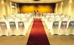 Millennium Suite wedding ceremony theatre style