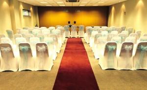 Millennium Suite wedding ceremony theatre style
